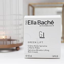 Crème Riche Spiruline Liftante Rides Ella Baché