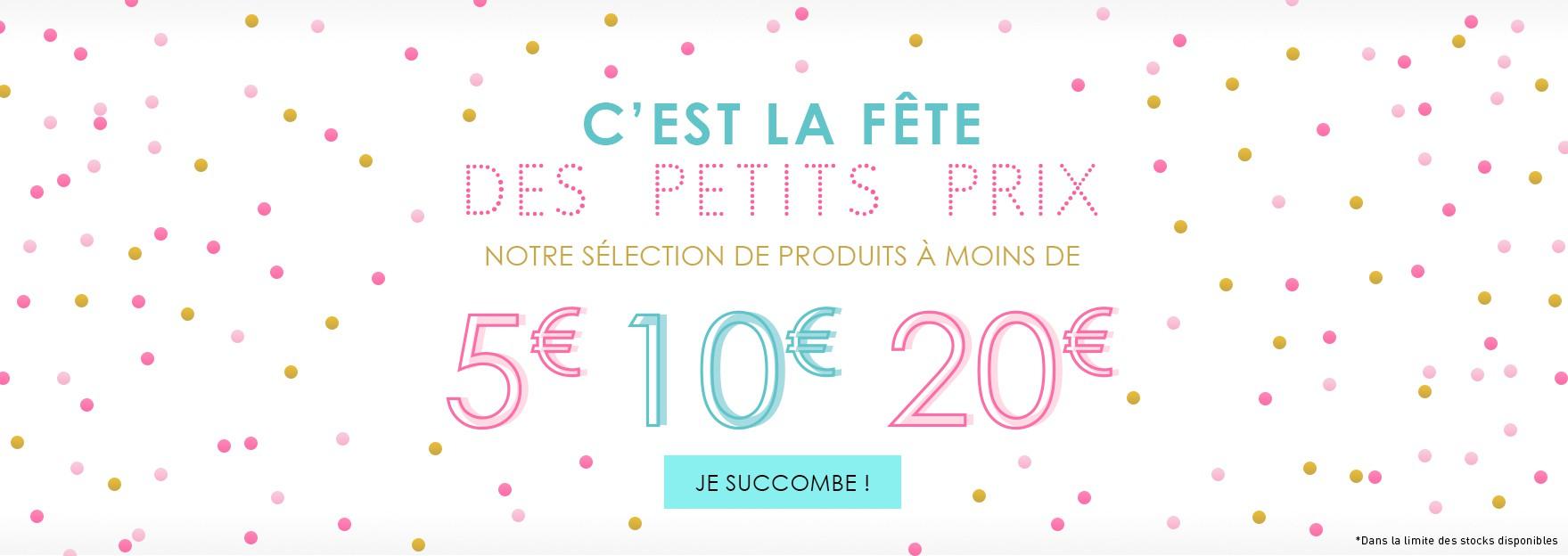 Sélection de produits -20€